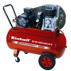 Einhell RT-AC 400/100/10 D Compresor aer pe ulei 100L - Compresor electric