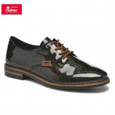 Pantof dama piele sintetica RIEKER 50614-90 leo (Marime: 38)