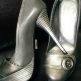 Pantofi din piele  naturala , NOI ,  nr 37