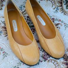 DEOSEBITI PANTOFI DIN PIELE DE SARPE, HEINE - Pantof dama, Marime: 38, Culoare: Din imagine, Piele naturala