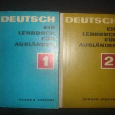 DEUTSCH - EIN LEHRBUCH FUR AUSLANDER 2 volume - Curs Limba Germana Altele