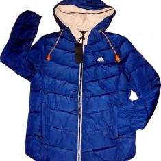 Geaca Adidas Model Nou De Sezon - Geaca barbati Adidas, Marime: L, Culoare: Bleumarin