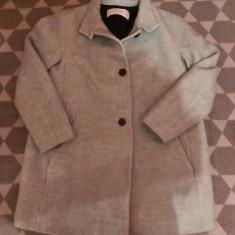 Palton Zara femei - Palton dama Zara, Marime: S/M, Culoare: Turcoaz