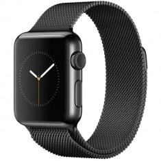 Smartwatch Apple Watch 38mm Space Black Stainless Steel Case Space Black Milanese Loop
