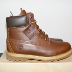 Ghete Timberland 6 inch Premium Boots Brown Leather 8232A nr. 40 si 41 - Ghete barbati Timberland, Culoare: Din imagine, Piele naturala