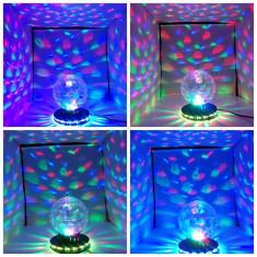 Glob Disco Jocuri de Lumini |Glob Rotativ | NOU - Lumini club