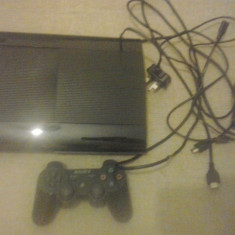 Consola PS3 SUPER SLIM 500 GB - pachet complet - PlayStation 3 Sony