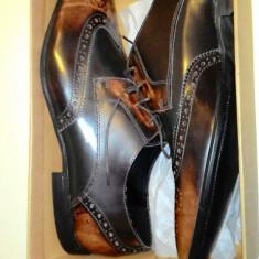 Pantofi piele eveniment/nunta/botez 47, noi, cutie, nepurtati - Tenisi barbati Asos, Culoare: Din imagine