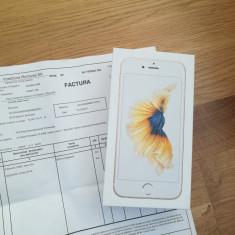 IPHONE 6S SIGILAT CU FACTURA 16GB GOLD - Telefon iPhone Apple, Auriu, Neblocat