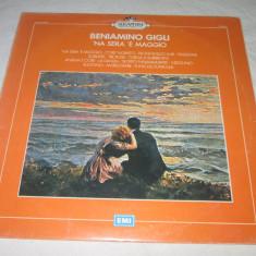 Beniamino Gigli - 'Na Sera 'E Maggio _ vinyl, LP, Italia - Muzica Opera emi records, VINIL