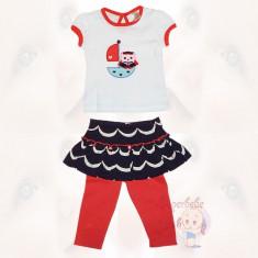 Costumas - colanti cu fustita si bluza - Haine bebelusi
