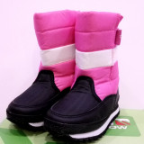 Cizme de iarna pentru copii Campri snow. Pe roz si pe albastru