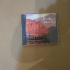 Cd absolute country - Muzica House Altele