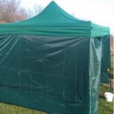 Cort verde / albastru pavilion 2x3m nou