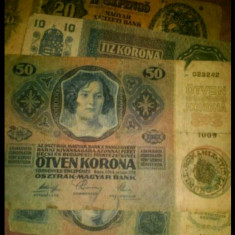 Bancnote vechi (Korona 1914 ), Europa