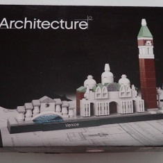 Lego Architecture 21026 Venice - Venetia Italia Original nou sigilat 212 piese