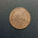 5 bani 1867 watt