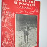 Revista Vanatorul si Pescarul Sportiv -August / 1960 - Carte Hobby Sport