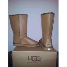 Cizme UGG Australia Model Piele Lucioasa Inalte (TALL) - Cizme dama Ugg, Marime: 36, 37, 39, 40, 35, Culoare: Camel, Maro, Rosu, Piele intoarsa