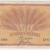 FINLANDA 100 MARKKA 1957 F - bancnota europa