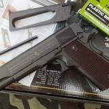 Pistol Airsoft Colt M1911 [FULL METAL][CO2] + munitie si gaz - Arma Airsoft Cyber Gun