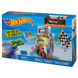 Pista Hot Wheels Doborarea Tintei Triple DJF02 Mattel