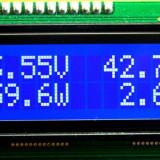 Volt - Amper 0 - 50 V 0 - 50 A (+ watt) - Voltmetru