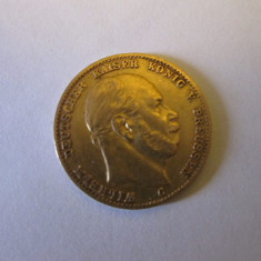 Moneda din aur, 10 marci - Moneda Antica, Europa, An: 1873
