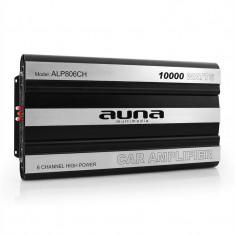 Amplificator de mașină AUNA 10, 000 Watt 6-Canale Bridgeable - Amplificator auto