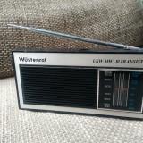 Radio portabil de colectie Wustenrot, vintage. - Aparat radio