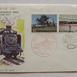 Locomotive Trenuri FDC Japonia 1990