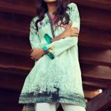 Tunică bumbac cu imprimeu - Bluza dama, Marime: S, M, L, Culoare: Din imagine, Maneca lunga, Universala