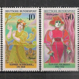 Germania.1976 Personalitati feminine SG.354 - Timbre straine, Nestampilat