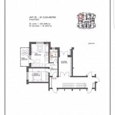 Apartament cu 2 camere+ terasa, Brasov, constructie 2016 - Apartament de vanzare, 45 mp, Numar camere: 2, Parter