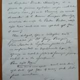 Document semnat olograf de Vasile Alecsandri, 7 Mai 1885 - Autograf