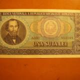 Bancnota 100 Lei 1966, cal.F.Buna