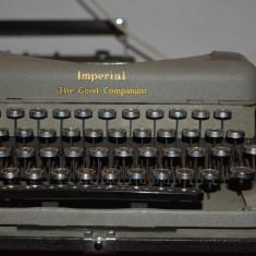 Masina de scris imperial deosebita