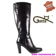 Cizme dama piele naturala GATTA negru (Marime: 35)