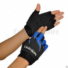 Manusi ciclism-sala albastru - marca FASHION