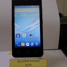 ALLVIEW A5 EASY TM(LCT) - Telefon Allview, Negru, 8GB, Neblocat, Dual core, 1 GB