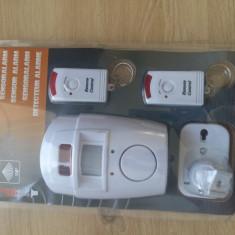 Alarma wireless cu senzor de miscare, accesare de la distanta, 2 tele - Sisteme de alarma