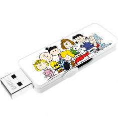 Memorie USB Emtec M700 8GB USB 2.0 Peanuts White - Stick USB