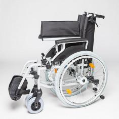 Carucior handicap pe structura usoara Ortomobil Lightman Start Plus 040352 - 48 cm - Scaun cu rotile