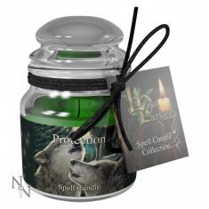 Lumânare magică pentru ritual de protecție - Betisoare parfumate