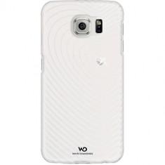 Husa Protectie Spate White Diamonds 109312 Heartbeat alba pentru Samsung Galaxy S6 - Husa Telefon