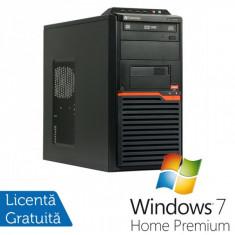 Calculatoare Gateway DT55, AMD Athlon II X2 250 3.0 Ghz, 4Gb DDR3, 320Gb, DVD-RW + Windows 7 Home Premium - Sisteme desktop fara monitor