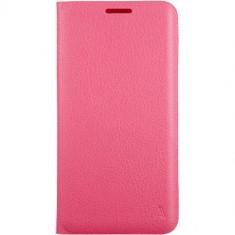 Husa Flip Cover Anymode FA00045KPK Agenda Pink pentru Samsung Galaxy S6 Edge Plus - Husa Telefon