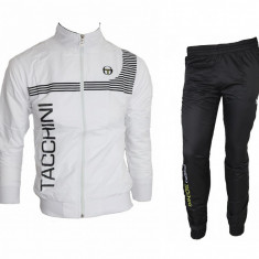 Trening Sergio Tacchini Fas - Bluza si pantaloni conici - Modele NOI -gen adidas - Trening barbati, Marime: S, M, L, XL, XXL, Culoare: Din imagine