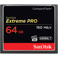 CF SanDisk Extreme Pro 64GB 1067X 160 MB/s UDMA7 Compact Flash FOTO VIDEO DSLR - Card Compact Flash