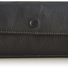 Fossil Blake negru portofel dama nou 100% original. Livrare rapida., Clasic